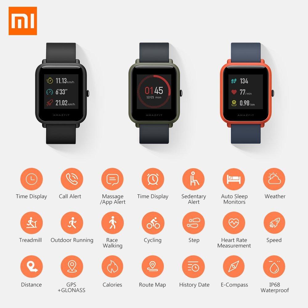 Smartwatch xiamomi amazfit bip