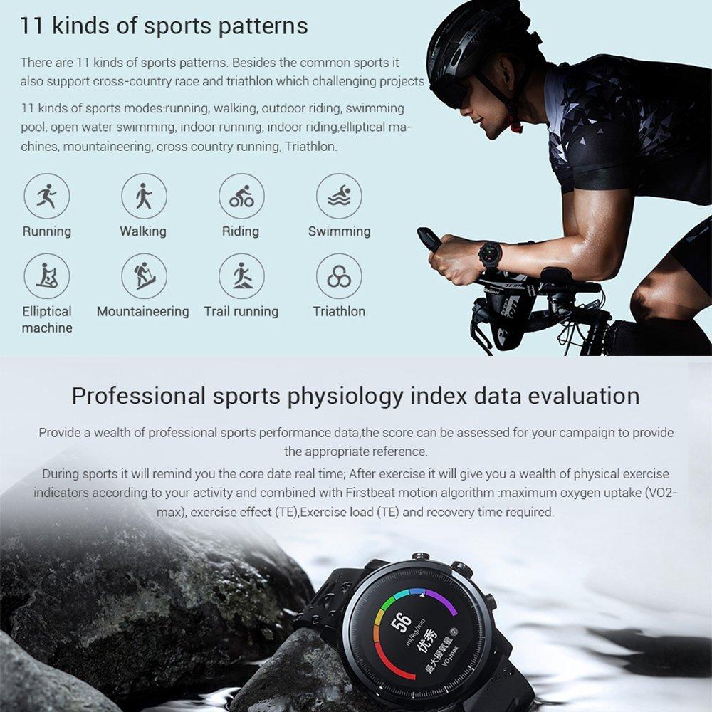 Smartwatch Xiaomi Stratos 2 Funciones