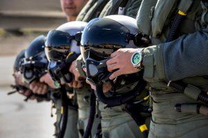 reloj de piloto de combate