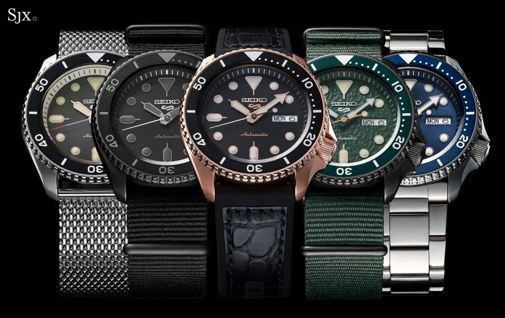 COLECCION SEIKO 5 SPORTS