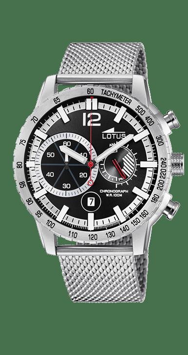 Reloj Lotus 10137/3 Negro/Blanco