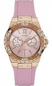 reloj de mujer guess rosa W1053L3