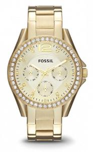 Reloj Fossil Para Mujer Dorado