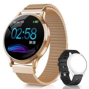 smartwatch naixures dorado