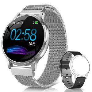 Smartwatch Naixures Plateado