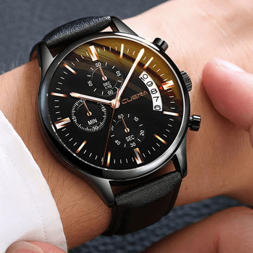 Reloj de Pulsera Hombre Negro